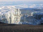 Mt Kilimanjaro glaciers